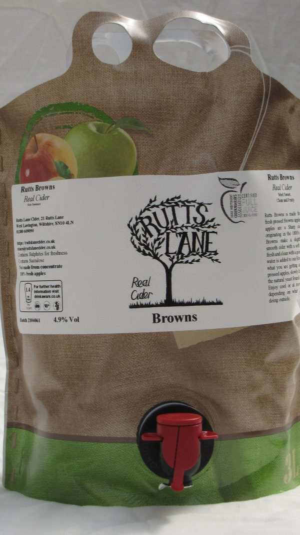 Browns Pouch 3L